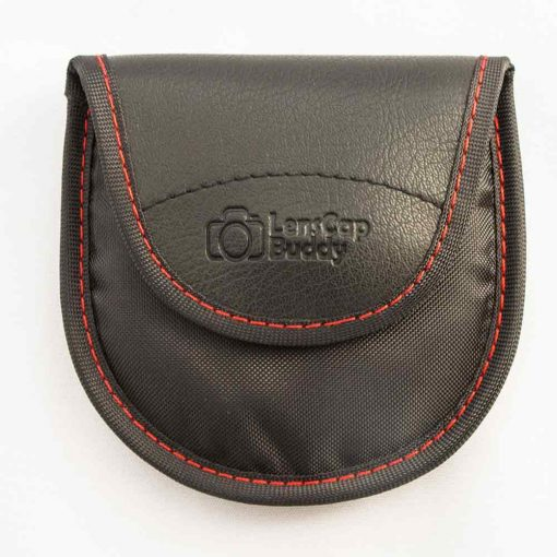 LensCap Buddy for Canon product front view. Lens Cap